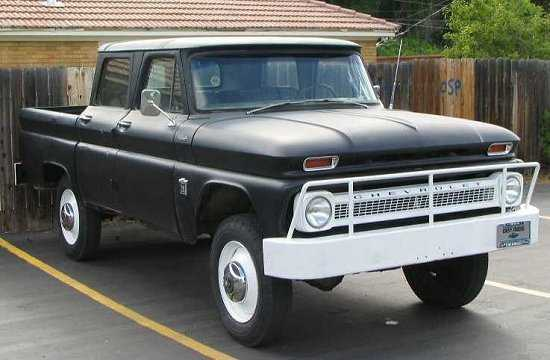 61 crewcab ih pickup trucks